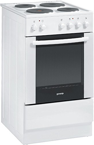 Gorenje E52108GW White 50 Cm All Electric With Grill, Eco Clean Interior, 49L Cavity With 2 Yrs Wty