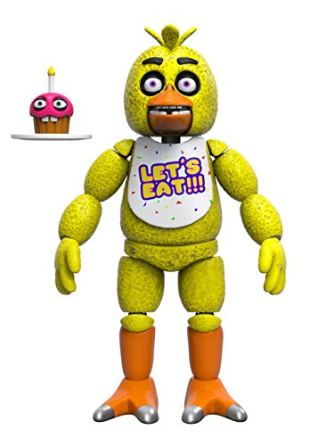 Funko Five Nights At Freddy's: Chica w/ Mr. Cupcake Articulated Vinyl Figure Toy