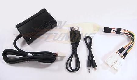 Interface Entree Aux USB pour autoradio Toyota ap2004 - Sans GPS