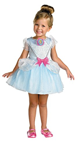 Girls Disney Princess Cinderella Kids Child Fancy Dress Party Halloween Costume