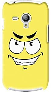 Kasemantra Cheerful Face Case For Samsung Galaxy S III Mini I8190