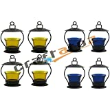 Christmas Gift Home Decorative Tealight / Candle Light ( Yellow & Blue )