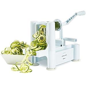 Andrew James - Coupe-Légumes Spirale De 3 Lames