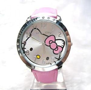 Montre Hello Kitty argentée Rose par Hello Kitty