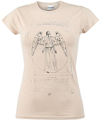 Doctor Who Weeping Angel Maglia donna sabbia M