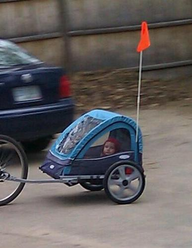 Best Price Instep Take 2 Double Bicycle Trailer Infant