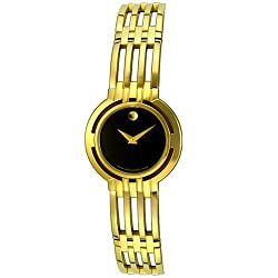 Movado Women's 605093 Gold Tone Esperanza Mini Watch