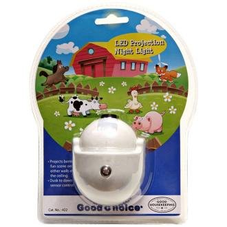Good Choice Led Projection Night Light, Barnyard Scene