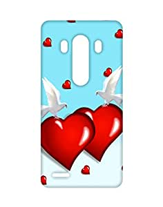 Mobifry Back case cover for LG G3 Mobile ( Printed design)