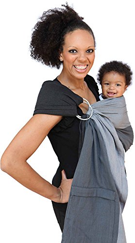Maya-Wrap-Lightly-Padded-Ring-Sling-Baby-Carrier-Asher