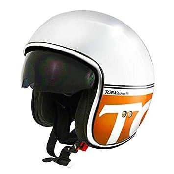 Casque Moto Jet Harry Orange Taille XS