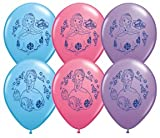 TEN (10) Disney's SOFIA THE FIRST 11 LATEX Birthday PARTY Balloons Decorations Supplies