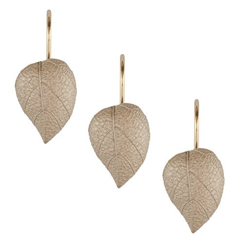 Sherry Kline Hemingway Shower Curtain Hooks (Set of 12) (Leaf Shower Curtain Hooks compare prices)