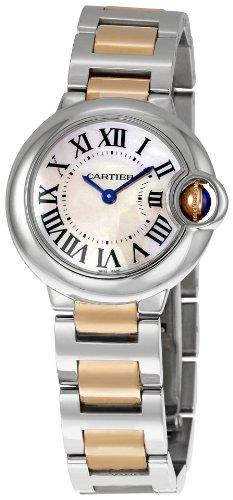 Cartier Women's W6920034 Ballon Bleu de Cartier Small Gold and Steel Watch