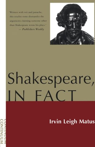 shakespeare in oxford:Shakespeare, In Fact