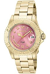Invicta 16851 Women's Angel Diver Quartz Stainless Steel Bracelet Watch