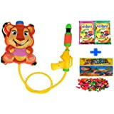 Darling Toys Holi Combo Pack (1 Water Gun+2 Herbal Gulal+1 Pack Balloon) - B01CA8LQWU