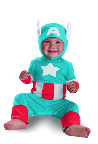 Disguise Costumes Marvel Captain America Kutie Infant