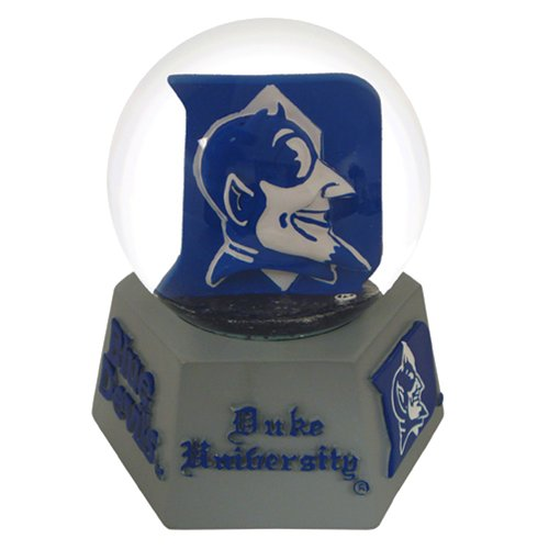 NCAA Duke Blue Devils Musical Snow Globe
