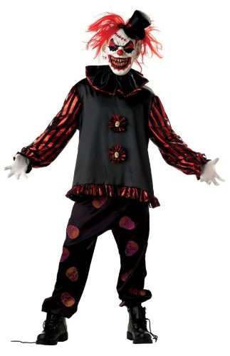Carver the Killer Clown Adult Costume Size 38-40 Medium