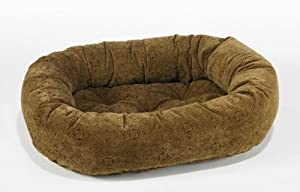 Bowsers Salsa Style Donut Dog Bed XS Pecan