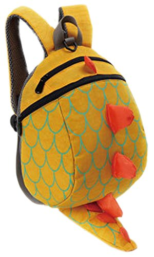 zhuannian-toddler-kids-dinosaur-safety-harness-backpack-yellow