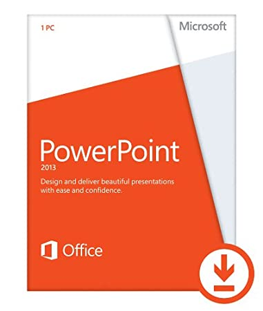 Microsoft PowerPoint 2013 (1PC/1User) [Download]