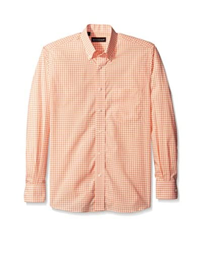 Kenneth Gordon Men's Check Button Down Sportshirt
