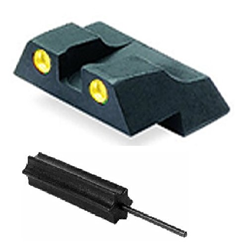 Meprolight The Mako Group Ml10226Y R.S Glock® Tru-Dot® Night Sight Rear Sight Yellow - Glock® 26 And 27 + Ultimate Arms Gear Pro Disassembly 3/32 Pin Punch Armorers Gunsmith Tool