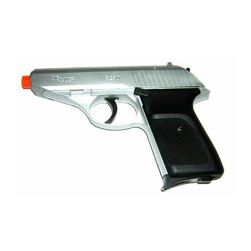 Amazon.com : Sig Sauer P230 - Silver Airsoft Gun : Airsoft Pistols