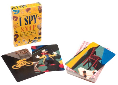 how to play i spy snap card game