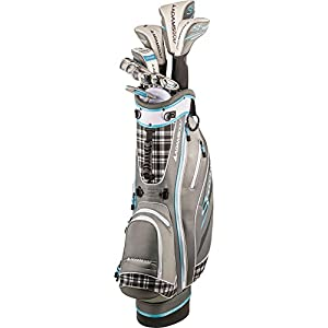 Ladies Speedline Plus Woods/Irons Set 3Wds/Hybrid/6-Sw/Putter/Bag Graphite...
