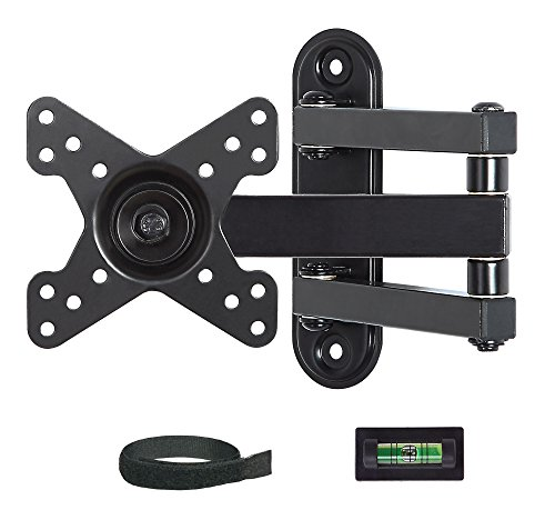 Mounting Dream MD2463 TV Monitor Wall Mount Bracket for most 10-26 Inch LED, LCD Flat Screen TV and Monitors, with Full Motion Swivel Articulating Arm, up to VESA 100x100mm and 33 lbs (Mounting Bracket Monitor compare prices)