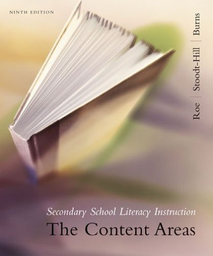 Secondary School Literacy Instructions (The Content Areas)