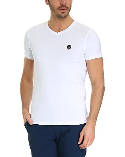 GALVANNI T-Shirt Manica Corta Premium Bianco 2XL
