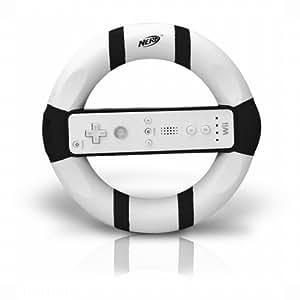 Wii Nerf Racing Wheel - Black