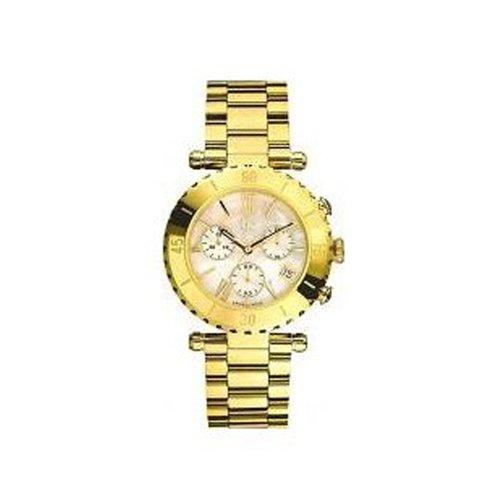 Guess I37000L1 - Orologio da polso da donna, cinturino in titanio colore oro