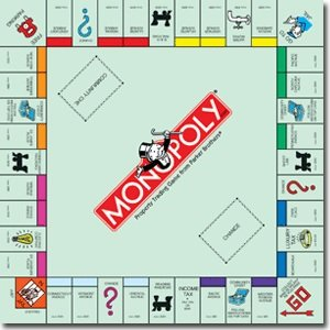 Monopoly Classic Replacement Board - 1