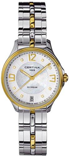 Certina Ladies 'Watch XS Analog Quartz Stainless Steel c021.210.22.116.00