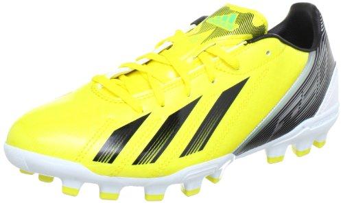 adidas Performance F10 TRX AG G65338, Scarpe da calcio Uomo, Giallo (Gelb (VIVID YELLOW S13 / BLACK 1 / GREEN ZEST S13), 42