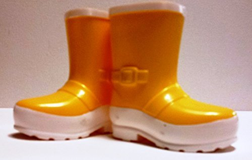 18-inch Doll Yelllow Rain Boots - 1