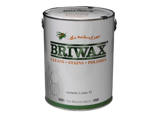 Briwax 5L Wax Polish Original - Dark Oak