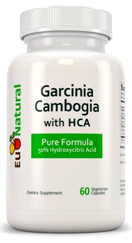 Garcinia Cambogia with HCA, 60 Vegetarian Capsules (Extra Strength Pure Formulation)