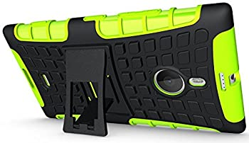 7. Kuteck Tough Rugged Dual Layer Protection Case Cover with Build in Stand for Nokia Lumia 1520, Bonus 1x Stylus Pen
