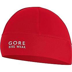GORE BIKE WEAR, Unisex, Sotocasco, Gorro para debajo del casco UNIVERSAL Térmico, rojo, talla: Uno, HTTHER