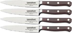 LamsonSharp 4-Piece Serrated Steak Knife Set