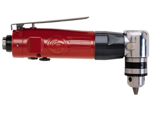 Chicago Pneumatic CP879 3/8-Inch Chuck Air Reversible Angle Drill