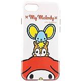 グルマンディーズ マイメロディ iPhone7対応ソフトケース アップ san-623a
