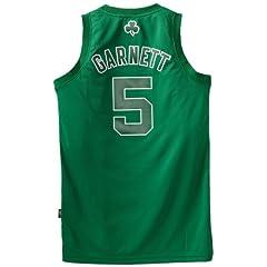 NBA Boston Celtics Winter Court Big Color Swingman Jersey, #5 Kevin Garnett, Green by adidas