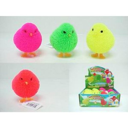 Light Up Flashing Chick Case Pack 288 front-954975